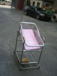 Hospital de acero inoxidable bebé columpio cama cunas (THR-RB001)