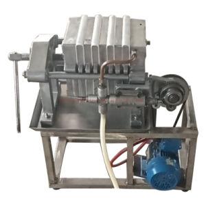Miniplatten-und Rahmen-Schmierölfilter-Maschine