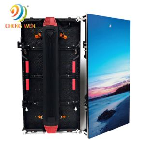 P4.81 Manufactura Guangzhou Piscina 0,5*1m Gabinete Placa de Video LED impermeable