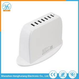 Arbeitsweg-weiße Schreibtisch 5V/9.5A 8 USBportable-Aufladeeinheit
