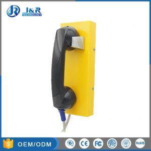 Telefono resistente della linea diretta del vandalo, telefono Emergency di Ringdown della stanza di obbligazione