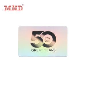 Ultralight EV1 Tarjeta de 1K MIFARE RFID Impresión de tarjetas inteligentes de la tarjeta de plástico