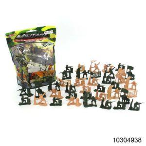 Figura brinquedos de plástico com soldado militar (10304938)