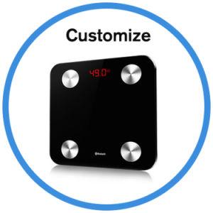 Electroni numérique Bluetooth Smart APP poids l'échelle de graisse corporelle