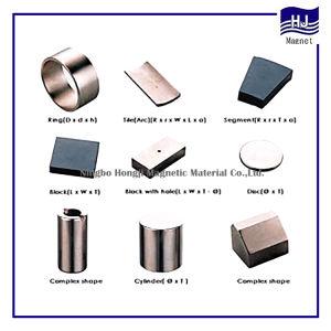 Unterschiedliche Form gesinterte seltene Massen-permanente Neodym NdFeB Magneten