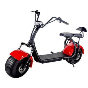 Commerce de gros de haute qualité 1000W vélo de moteur de moto Moto Fat Tire deux roues Harley Citycoco Scooter électrique