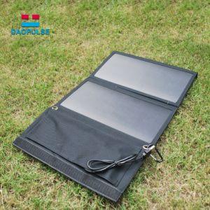 携帯用屋外のSolar Energy太陽電池パネル21Wのラップトップの太陽充電器