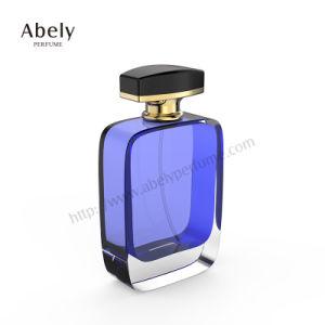 La bouteille de 110ml en verre clair et verre de couleur pour le parfum