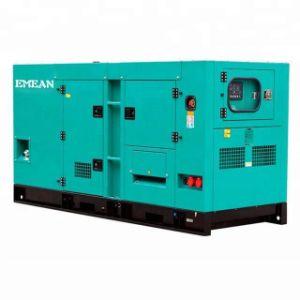 Большая мощность 120 квт 150 ква электрический переносной Silent дизельного генератора 3 фазы двигателя необходимо установить