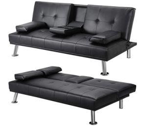 Comercio al por mayor de estilo caliente plegado fácil recibir un sofá cama multifunción