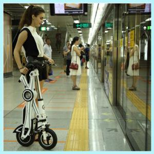 Batería de litio en dos ruedas Chainless mini bicicleta eléctrica plegable