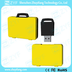 Custom чемодан флэш-накопитель USB для рекламных подарков (ZYF5050)