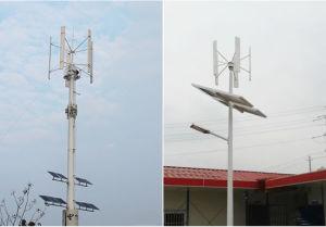 Hybrider Solarwind-Energien-Miniwind-hybrider Stromnetz-Solarwind Turbin 10 Kilowatt