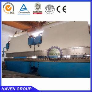 Cnc-Lampenpol und verbiegende Maschine des Straßenpols hydraulische Presse-Bremsen-Maschine in Tandem2-we67k-500x7000