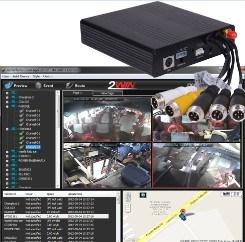 3G для мобильных устройств GPS Car DVR регистратор (TW-MD4107)