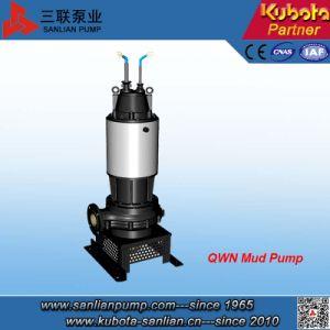 Pompa sommergibile del fango delle acque di rifiuto di Qwn