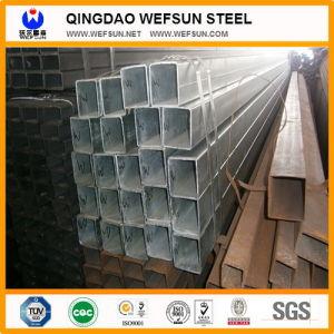 Tubi strutturali caldi del quadrato nero del materiale ERW di vendita Q235