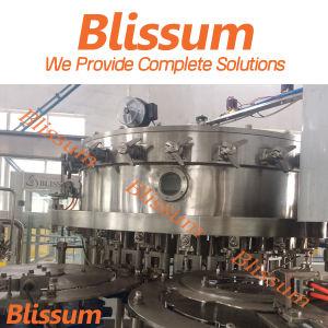 Enchimento automático de água gasosa e máquina de engarrafamento (1000BPH-25000BPH)