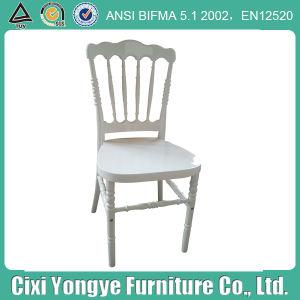 백색 방석을%s 가진 나폴레옹 백색 의자