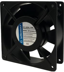 Вытяжной вентилятор переменного тока 120X120X38мм с вилкой