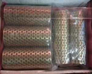 Cage de retenue à bille en acier en laiton pour taille personnalisée