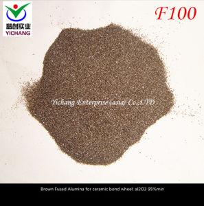 Brown, el óxido de aluminio para la aplicación de lija de grano