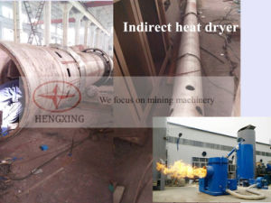 Сушильщик для Drying минералов, конструкционные материал тавра Hengxing промышленный роторный