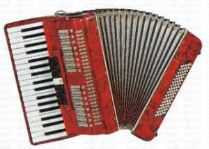 Аккордеоня аккордеони клавиатуры клавиатуры (CA1310)