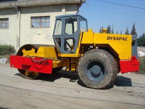 Originale usato del rullo compressore di Dynapac Ca25d nuovo 80% (DJD23)
