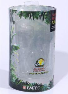 管のプラスチックの箱