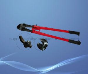 Finsh noir Head Steel et Rubber Handle Wire ou Bolt Cutter (522024)