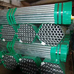 Bs1387 Threading Galvanzied ERW Steel Pipe con Coupling