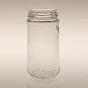 La comida de cristal mermelada miel té Contenedor para el uso diario