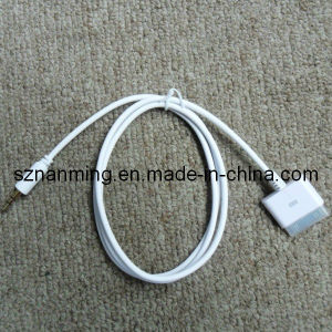 30pin Male bis 3.5mm Plug Cable für iPhone (NM-USB-680)