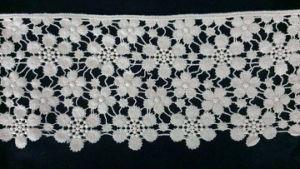 方法衣服のための水溶性の刺繍の綿のレース