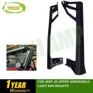 Para Jeep Jk parabrisas de los montajes de la barra de luz superior