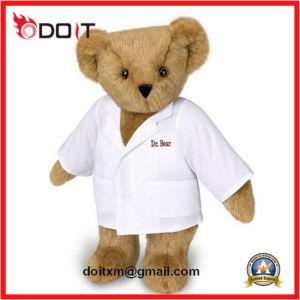 Stuk speelgoed van de Pluche van de Jonge geitjes van de Baby van de Teddybeer van Kerstmis van de Knuffel van de douane het Zachte Gevulde Dierlijke
