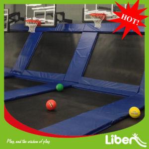 InnenTrampoline Beds mit Basketball Hoop