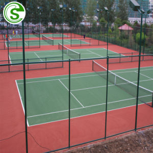 Terrain de jeux de sports de haute qualité en acier galvanisé de Wire Mesh Prix de clôture de maillon de chaîne