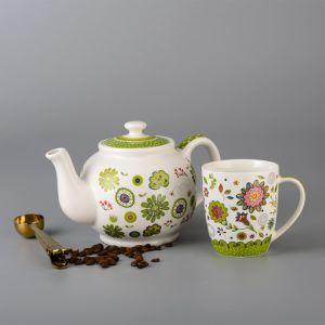 Nuevo diseño y la cena de alta calidad y de porcelana taza de café