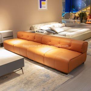 Nuevo Diseño Living Room Cuero Sofá Ocio Muebles modernos FC1