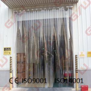 PVC rideau de porte pour chambre froide/congélateur –PVC rideau de ...