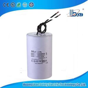 CBB60 motor de CA Run Condensadores con el certificado del CE