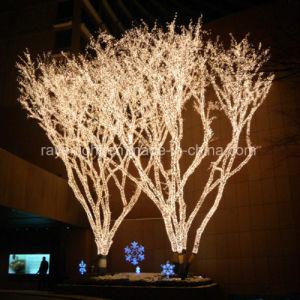 0c3df677afe Decoración Artificial exterior LED luces de árbol de Navidad ...