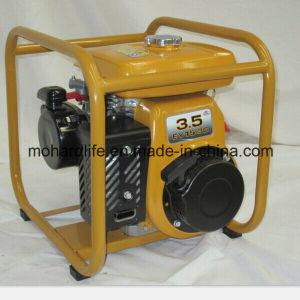 Bomba de agua con motor de gasolina de 3.5HP Robin de 2 pulg.