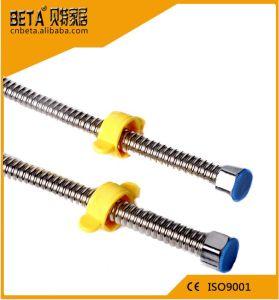 Tubo flessibile ondulato flessibile dell'acciaio inossidabile del tubo flessibile del metallo dell'impianto idraulico
