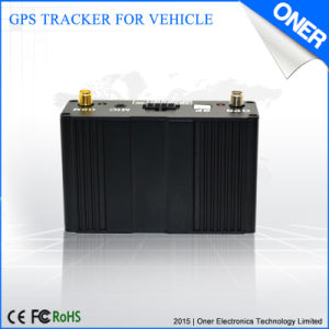 Dispositif de repérage GPS avec surveillance de la température pour le réfrigérateur voiture