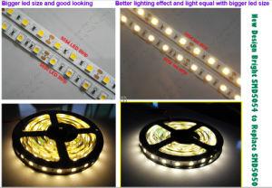 di 12V 24V nuovo SMD5054 LED indicatore luminoso di striscia flessibile di CC 96LEDs/M