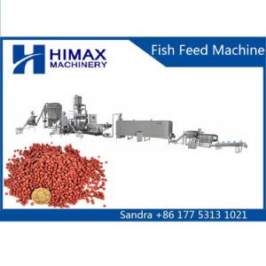 Sich hin- und herbewegende Fische führen trockenem Hundenahrung- für Haustieremaschinen-Extruder Tierfutter-Maschine