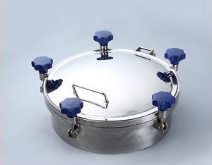 De hygiënische Ronde Toebehoren van de Tank van de Dekking van het Mangat van de Druk Sanitaire